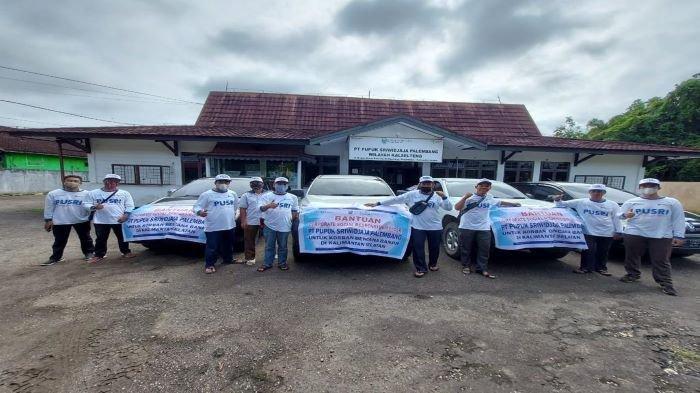 PT Pusri Palembang Salurkan Bantuan Untuk Korban Banjir Kalsel