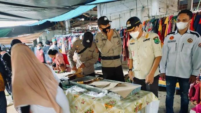 Tiga Zat Berbahaya Ditemukan Pada Mie Basah di Jirak Jaya, Forkopikcam Sidak Pasar Tradisional