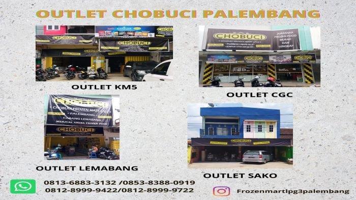CHOBUCI Terus Lebarkan Sayap,  4 Outlet Siap Layani Warga Kota Palembang