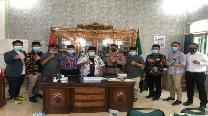 Dansat Brimob Polda Sumsel Kunjungi Sekretariat PWNU, Silaturahmi dan Diskusi Tentang Kebangsaan