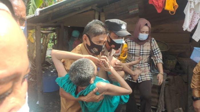 Air Mata Diana Menetes, Belasan Tahun Terbaring Lemah, PTBA dan Pemda Datang Membantu Pengobatan