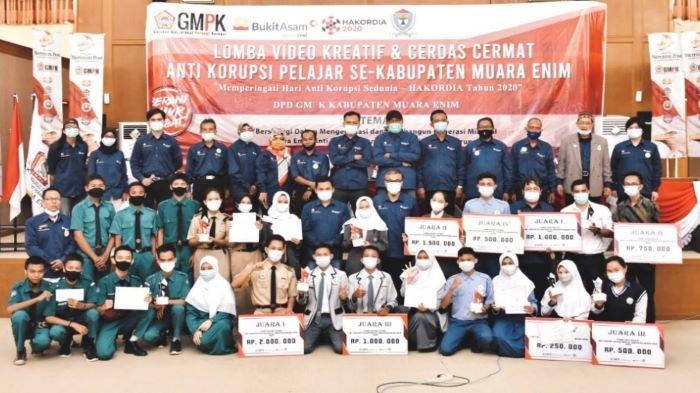 GMPK Muara Enim dan PTBA Gelar Lomba Cerdas Cermat dan Video Kreatif Anti Korupsi
