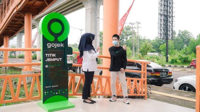 Praktis dan Mudah Bagi Pelanggan, Gojek Layani Antar Jemput di Stasiun LRT