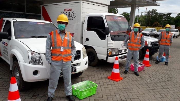 Servis Nyaman Dimasa Pandemi, Astra Isuzu Palembang Tawarkan Paket Servis OKE Isuzu
