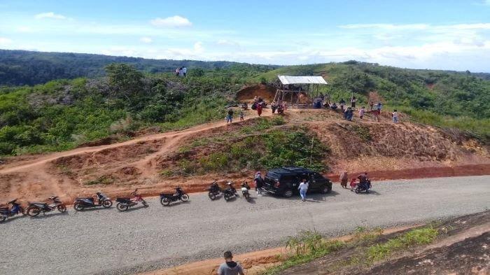 Jalan Provinsi Sumsel OKU Selatan Ke Perbatasan Bengkulu Ditarget Selesai 2021