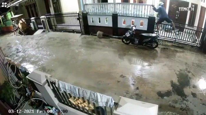 Viral Spesialis Pencurian Aglonema di Prabumulih,  Santroni Lima Rumah Termasuk Rumah Ketua RT