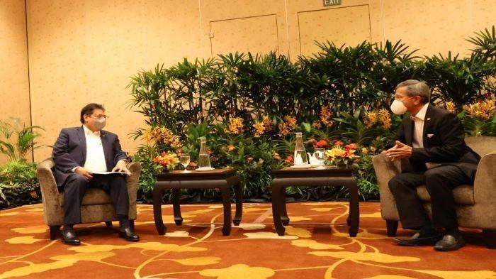 Menko Perekonomian Airlangga Kunker ke Singapura, Bahas Kerjasama Bilateral Bidang Ekonomi
