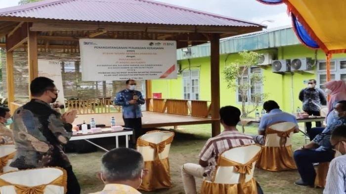 BNI Bantu 1000 Petani, Salurkan KUR Rp 100 Miliar untuk Peremajaan Kelapa Sawit