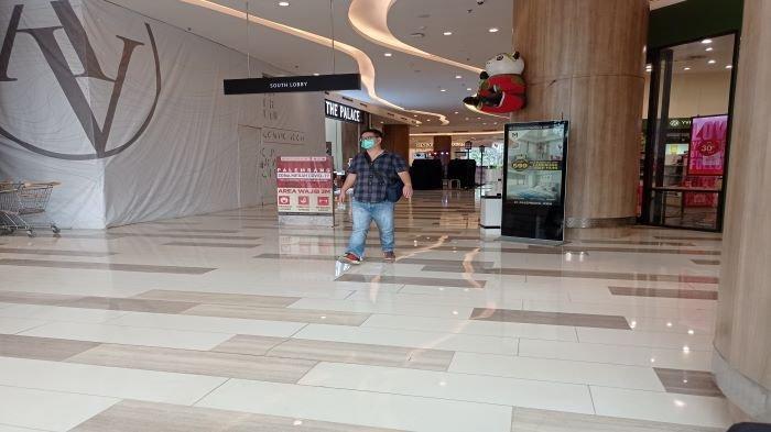 Mal di Palembang Mulai Buka Dengan Prokes Ketat, Hari Pertama Sepi Pengunjung