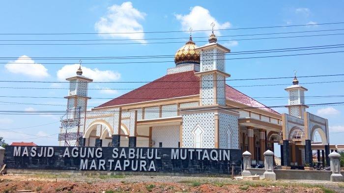 Sambut Bulan Suci Ramadan, Ini Rancana Pengurus Masjid Agung Sabilul Muttaqin Martapura