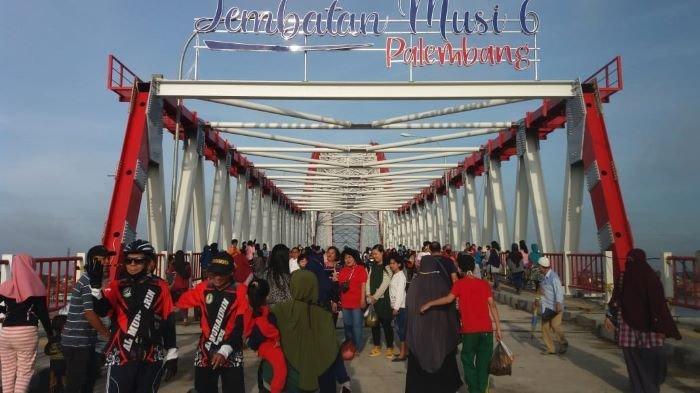 Malam Ini Peresmian Jembatan Musi VI Tertutup Umum, Ampera & BKB Dijaga Ketat Pol PP & Polisi