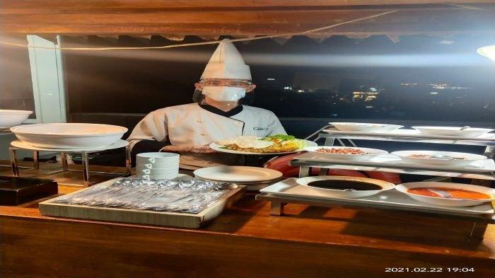 Gurihnya Nasi Goreng Alap Alap Hotel Santika, Harga Hanya Rp 20 ribu, Racikan Chef Profesional