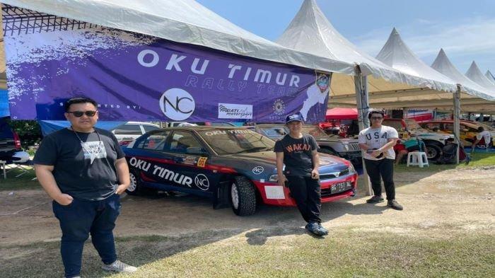 Tim Rally OKU Timur Optimis Raih Gelar Juara Nasional, Kejuaran Nasional Sprint Rally dan Rally 2021