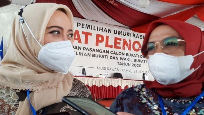 Ditetapkan Sebagai Paslon Bupati dan Wakil Bupati Musirawas Terpilih, Ratna Nantikan Saat Pelantikan