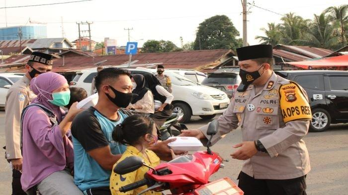 Polres Pali Bakal Sekat Gerbang Masuk Kabupaten PALI, Cegah Mudik Jaga Status Zona