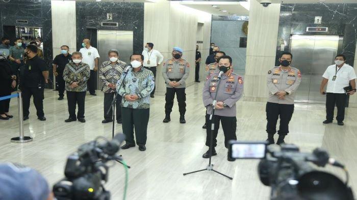 Kapolri Silaturahmi ke Mahkamah Agung, Bahas Tilang Elektronik