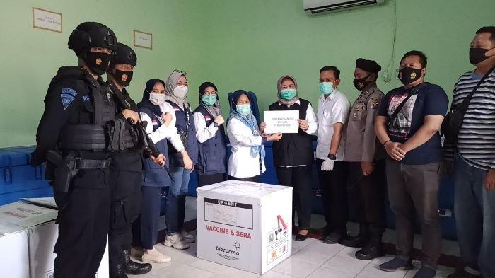 Sumsel Kembali Terima 30.950 Vial Vaksin Covid-19 dari Biofarma, Untuk 17 Kabupaten/Kota