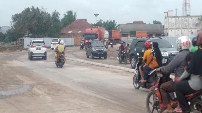 Jalan Akses Kendaraan Dibuka,  Pekerjaan Underpass Tol Indraprabu Segera Berjalan