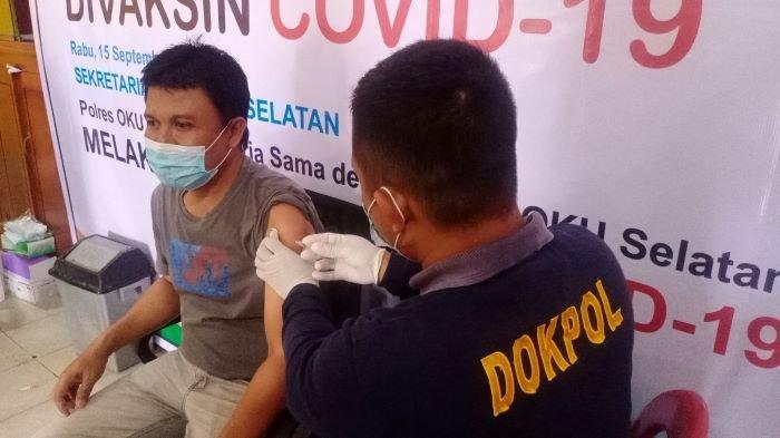 Penuhi Syarat Peserta Porprov, Atlet dan Pelatih OKU Selatan Dapat Vaksinasi Covid-19