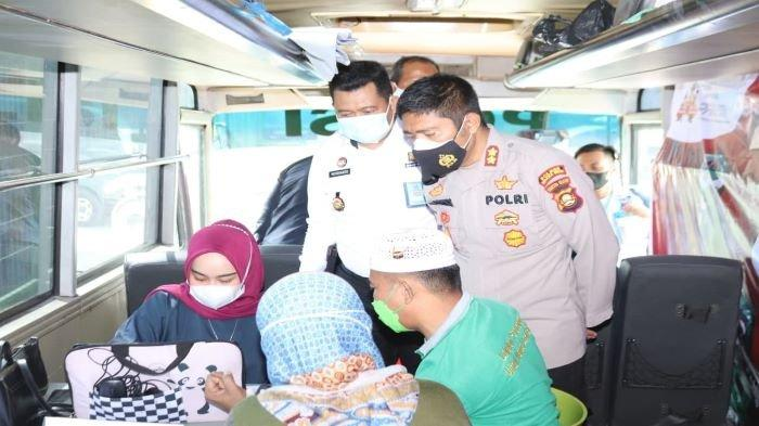 Vaksinasi 100 Warga Binaan, Polres Muaraenim Gandeng Lapas Kelas II B Muaraenim