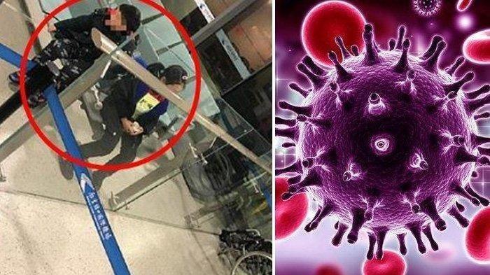 2 Bocah Ditinggalkan Orang Tuanya di Bandara Diduga Terinveksi Virus Corona, Suasana Langsung Ricuh