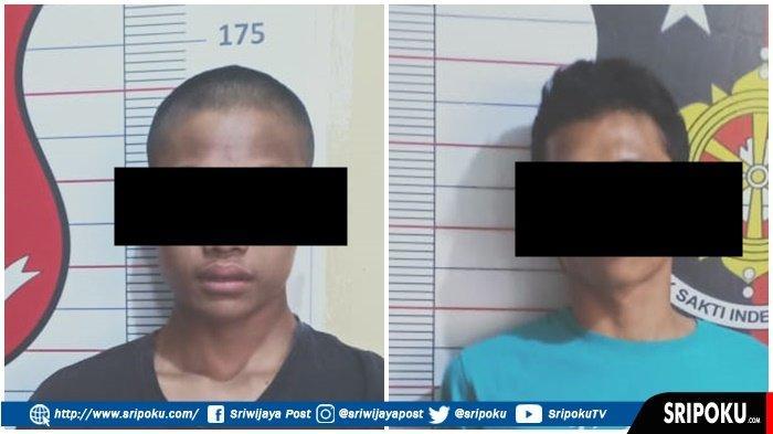 Buron 4 Bulan, Reskrim Polsek Lubukbatang Tangkap 2 Pencuri Sapi, Petunjuknya Usus di Semak Belukar