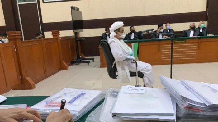 Hakim Tolak Eksepsi Rizieq Shihab, Perintahkan Jaksa Periksa Pokok Perkara RS Ummi Bogor