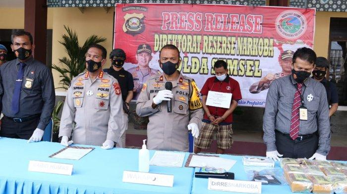 Taufik Hidayat Ditangkap Polda Sumsel, Kedapatan Bawa Sabu 25 Kg di Sekayu Muba Pakai Mobil Pajero