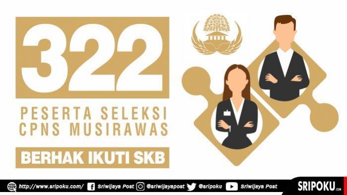 Daftar 322 Peserta Seleksi CPNS 2018 Kabupaten Musirawas yang Berhak Ikuti SKB