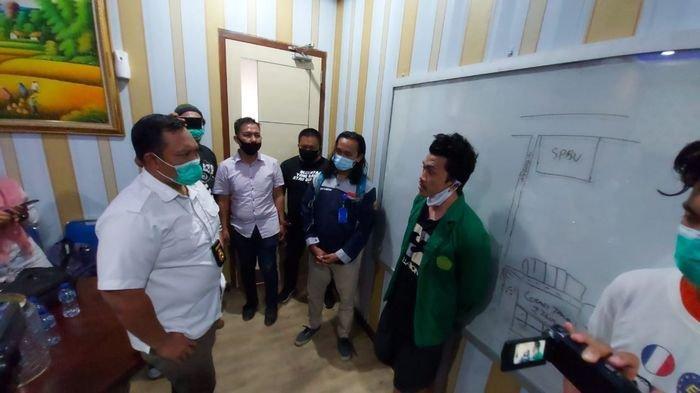 Remaja di Palembang Ini Dinyatakan Reaktif Rapid Test, Diamankan Saat Rusak Dua Mobil Polda Sumsel