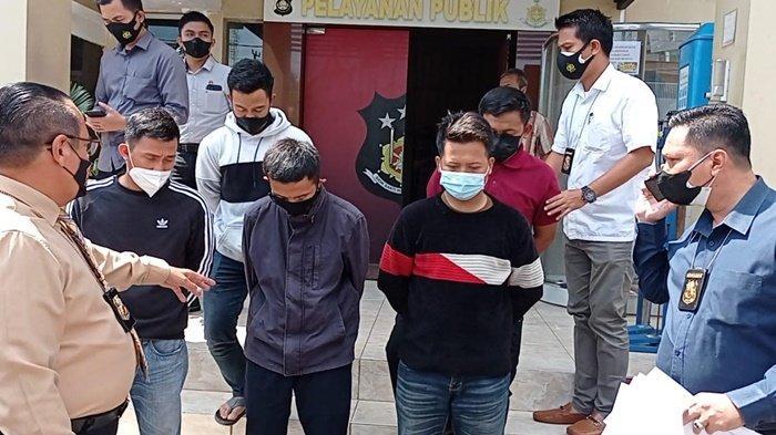 Pungli di Pintu Tol Keramasan, Polda Sumsel Tangkap 5 Anggota Satgas PPKM Covid-19 Ogan Ilir