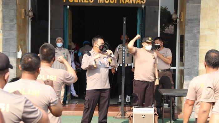 Bertubuh Gendut, 50 Personil Polres Musi Rawas Wajib Ikuti Program Penurunan Berat Badan