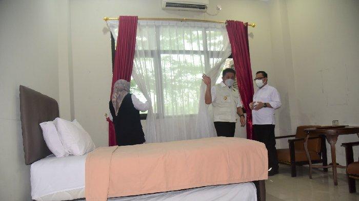 Herman Deru Siapkan 500 Tempat Tidur di Asrama Haji Palembang, untuk Isolasi Mandiri Pasien Covid-19