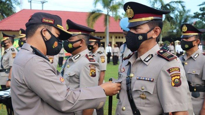 Baru 10 Bulan Jabat Kasat Lantas, AKP Johan Suseno ke Polres OKI, 9 Perwira Polres MURA Dimutasi