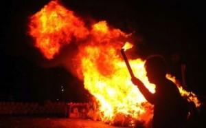 3  Posko Pemenangan Partai Aceh Diduga Dibakar Orang tak Dikenal