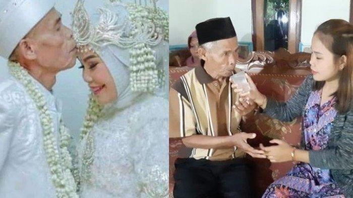 Rumah Tangga Abah Sarna yang Nikahi Gadis 17 Tahun Cuma Bertahan 22 Hari, Abah Talak Noni Sang Istri