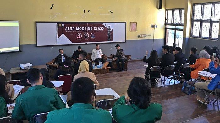 Mengedukasi Pemuda Melalui ALSA Mooting Class, Pengetahuan Soal Hukum Semakin Bertambah