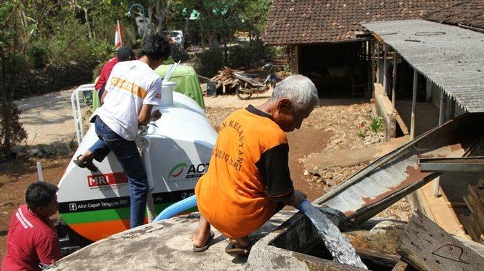 Atasi Kekeringan, ACT Beri Bantuan Jutaan Liter Air dan Ratusan Sumur Wakaf di Berbagai Lokasi