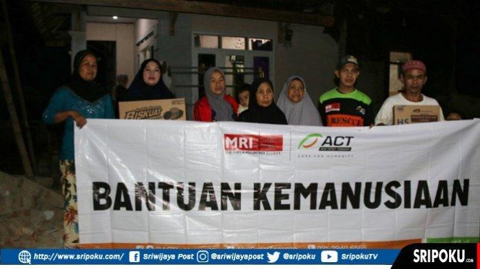 Pasca Gempa, ACT Berikan Bantuan Pangan Keluarga Korban Gempa Banten