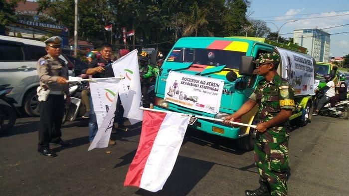ACT Sumsel Kirim 9 Mobil Tangki Air ke Tiga Wilayah di Palembang yang Mengalami Krisis Air Bersih