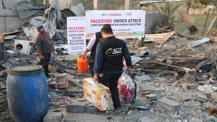 ACT Terus Kirimkan Bantuan ke Ratusan Warga Korban Serangan Israel