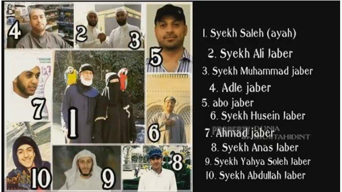 Keluarga Syekh Ali Jaber