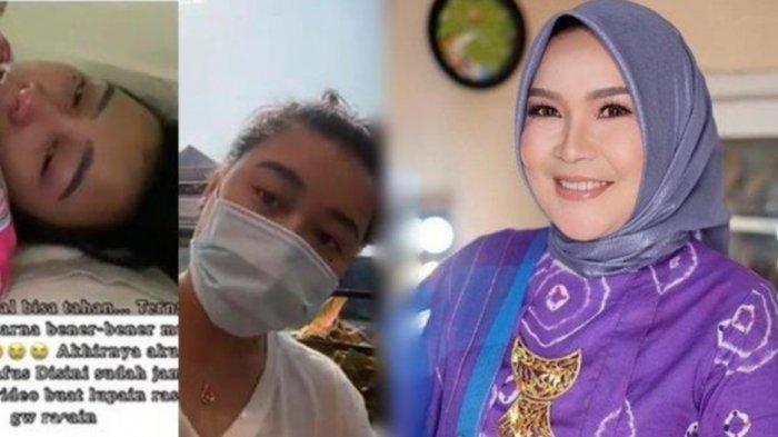 Kondisi Syifa Adik Ayu Ting Ting Covid-19 sampai Dua Kali, Putri Umi Kalsum Kesulitan Nafas: Sakit