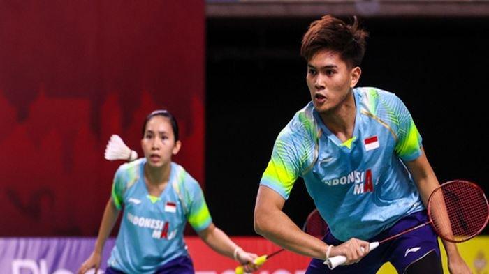 Thailand Open II 2021 - Kepayahan Dalam 2 Game, Ganda Campuran Indonesia Gugur di Babak 16 Besar