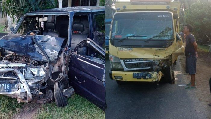Kronologi Kecelakaan di Jalan Lintas Komering OKI Toyota Kijang Vs Truk, Kepala Keluarga Meninggal