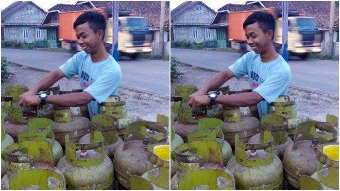 Sampai Pinjam Punya Tetangga, Ibu-ibu di PALI Resah: 2 Pekan Tabung Gas Melon Langka