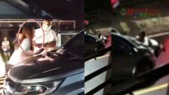 Inilah Wanita yang Diduga Dibawa Wakil Ketua DPRD Sulut di Mobil dan Seret Istri, Viral di TikTok