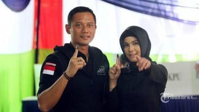 Annisa Pohan Istri Agus Harimurti Yudhoyono Gagal Fokus Akan Baju yang Dipakai Peserta KLB Demokrat