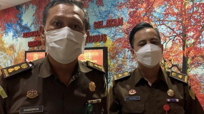 Digelar Virtual Begini Pembicaraan Jaksa Dengan Dua Tersangka Masjid Raya Sriwijaya Palembang