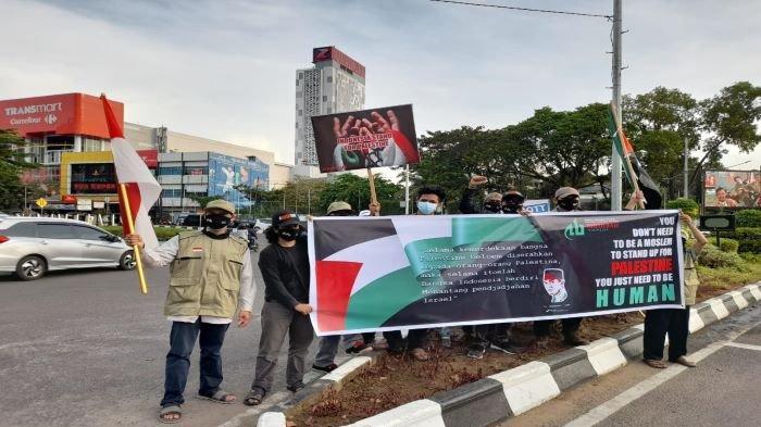Suarakan Dukungan untuk Palestina, ABI Sumsel Bagikan 1.000 Masker